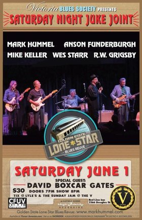Saturday Night Juke Joint: Golden State Lonestar Blues Reveue, David