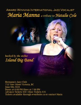 Unforgettable - A Tribute to Natalie Cole @ Hermann's Jazz Club Jun 9 2019 - Jun 16th @ Hermann's Jazz Club