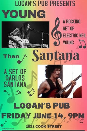 Young Santana - Set of Neil Young - Set of Carlos Santana @ Logan