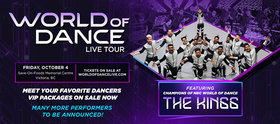 World of Dance Live Tour @ Save-On-Foods Memorial Centre Oct 4 2019 - Oct 13th @ Save-On-Foods Memorial Centre