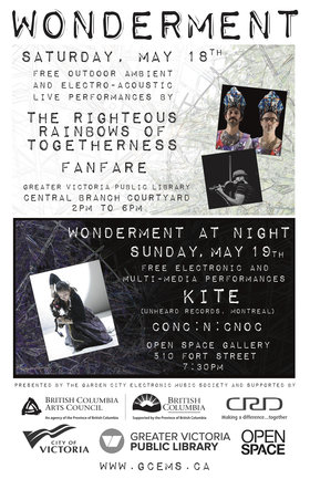 Wonderment: The Righteous Rainbows of Togetherness, Fanfare @ Greater Victoria Public Library - Central Branch May 18 2019 - May 19th @ Greater Victoria Public Library - Central Branch