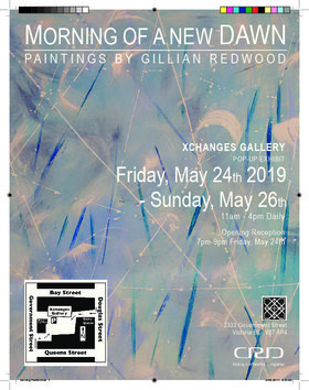 MORNING OF A NEW DAWN: Gillian Redwood (Visual Artist) @ Xchanges Gallery May 24 2019 - Oct 18th @ Xchanges Gallery