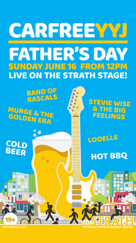 Band of Rascals, Murge & The Golden Era, Stevie Wise and The Big Feeling, Looelle @ Car Free Day - Strath Stage Jun 16 2019 - Jun 24th @ Car Free Day - Strath Stage
