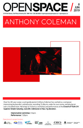 Anthony Coleman @ Church Of Truth Jun 8 2019 - Jun 18th @ Church Of Truth