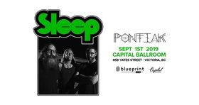 Sleep, Pontiak @ Capital Ballroom Sep 1 2019 - Oct 13th @ Capital Ballroom