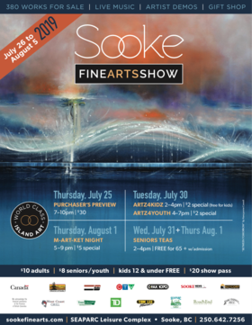 Sooke Fine Arts Show: Charine Barber @ SEAPARC Leisure Complex Aug 3 2019 - Sep 22nd @ SEAPARC Leisure Complex