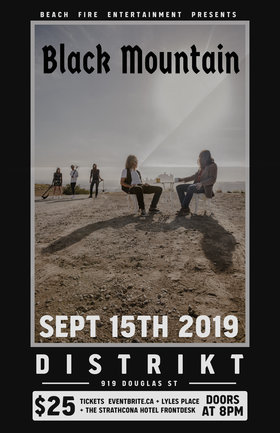 Black Mountain, Majeure @ Distrikt Sep 15 2019 - Sep 21st @ Distrikt
