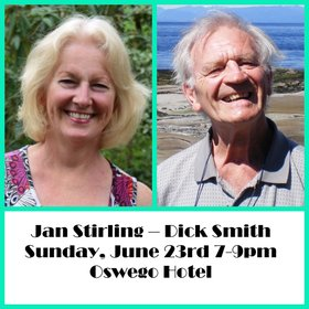 Jazz Duo - Sax and Piano: Dick Smith, Jan Stirling @ Oswego Hotel