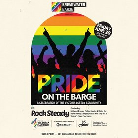 Pride on the Barge: Rock Steady @ The Breakwater Barge Jun 28 2019 - Jul 23rd @ The Breakwater Barge