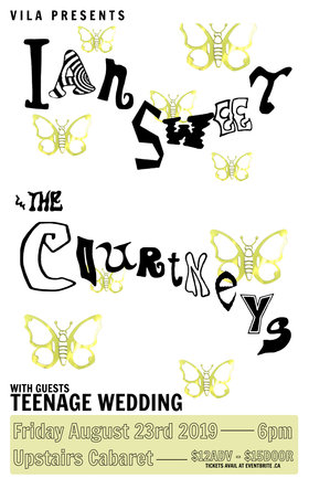 The Courtneys, Ian Sweet, Teenage Wedding @ The Upstairs Cabaret Aug 23 2019 - Sep 15th @ The Upstairs Cabaret