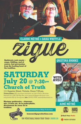 Zigue, Qristina Brooke, Aime Methe @ Church Of Truth Jul 20 2019 - Jul 19th @ Church Of Truth