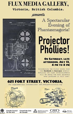 Projector Phollies: Various @ FLUX MEDIA GALLERY Jul 13 2019 - Jul 16th @ FLUX MEDIA GALLERY