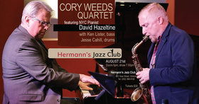 Cory Weeds Quartet featuring New York City Pianist David Hazeltine @ Hermann