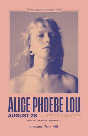 Alice Phoebe Lou @ The Upstairs Cabaret Aug 28 2019 - Sep 15th @ The Upstairs Cabaret