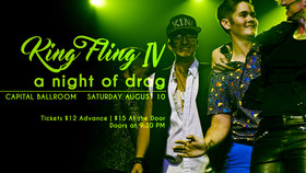 King Fling IV @ Capital Ballroom Aug 10 2019 - Aug 22nd @ Capital Ballroom