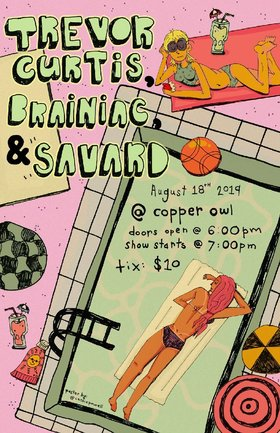 Trevor Curtis, BRAINiac, Savard @ Copper Owl Aug 18 2019 - Aug 25th @ Copper Owl