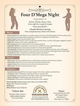 Four D' Mega Night @ Victoria Edelweiss Club Sep 21 2019 - Aug 21st @ Victoria Edelweiss Club