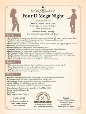 Four D' Mega Night @ Victoria Edelweiss Club Sep 21 2019 - Sep 14th @ Victoria Edelweiss Club