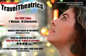 TravelTheatrics at the Victoria Fringe Festival: Keara Barnes @ Robin and Winifred Wood Recital Hall Aug 22 2019 - Sep 15th @ Robin and Winifred Wood Recital Hall