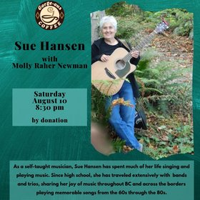Sue Hansen @ Gorge-ous Coffee Aug 10 2019 - Aug 22nd @ Gorge-ous Coffee