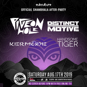 Digital Motion pres Vancity's Official Shambhala After Party @ The Red Room Aug 17 2019 - Aug 21st @ The Red Room