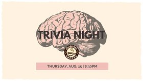 Trivia Night!:  (Summer Songs Themed) @ Gorge-ous Coffee Aug 15 2019 - Aug 22nd @ Gorge-ous Coffee