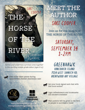 Book Launch for The Horse of the River: Sari Cooper @ Greenhawk Sep 14 2019 - Oct 13th @ Greenhawk