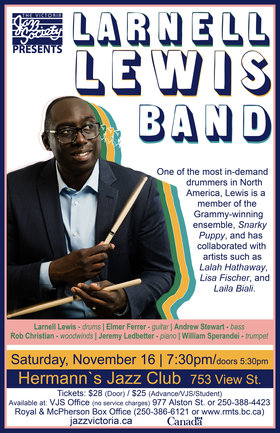 Larnell Lewis Band @ Hermann