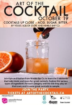 Acid. Sugar. Bitter: How to Create (and Fix) Great Cocktails @ Crystal Garden Oct 19 2019 - Oct 20th @ Crystal Garden