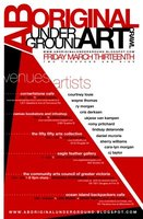 Aboriginal Underground Art Show - Sep 17th @ the fifty fifty arts collective
