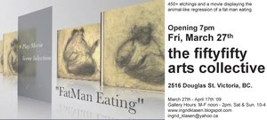 FatMan Eating - Sep 17th @ the fifty fifty arts collective