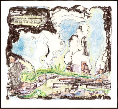 City Gone Awry II by  Arlene Nesbitt