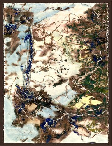 Landscape Gone Awry by  Arlene Nesbitt
