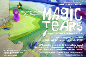 Magic Tears - Sep 17th @ the fifty fifty arts collective
