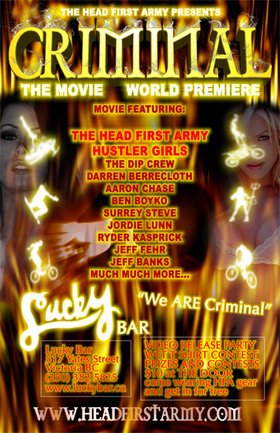 HEAD FIRST ARMY PREMIERE!!! with: the Grey Army @ Lucky Bar Jul 26 2005 - Oct 27th @ Lucky Bar