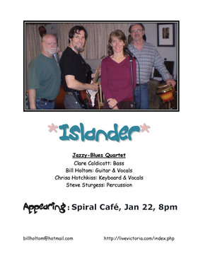 Islander - Victoria @ Spiral Cafe Jan 22 2010 - Aug 8th @ Spiral Cafe