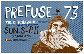 A full band live set by: Prefuse 73, The Chicharones, DJ's Paul and Eric Devro @ Sonar Sep 11 2005 - Apr 2nd @ Sonar