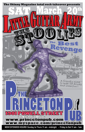 The Skinny  presents: Little Guitar Army, The Stoolies, The Best Revenge @ Princeton Pub Mar 20 2010 - Jun 3rd @ Princeton Pub