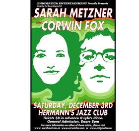 Corwin Fox, Sarah Metzner @ Hermann's Jazz Club Dec 3 2005 - Oct 20th @ Hermann's Jazz Club