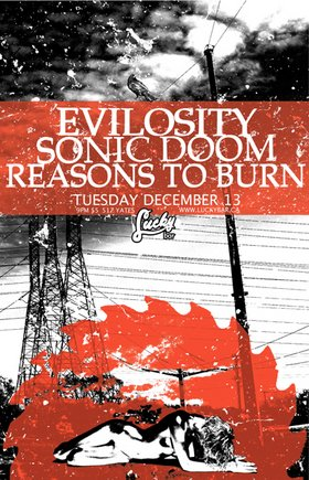 METAL!!!: Evilosity, Sonic Doom, Reasons To Burn @ Lucky Bar Dec 13 2005 - Oct 30th @ Lucky Bar