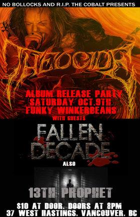METAL!!!: THEOCIDE, Fallen Decade, 13th Prophet @ Funky Winker Beans Oct 9 2010 - Oct 25th @ Funky Winker Beans
