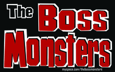 THE BOSS MONSTERS