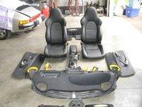 PORSCHE 996 GT2 CARBON FIBRE INTERIOR