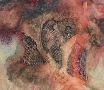Nether Regions (detail) by  Arlene Nesbitt
