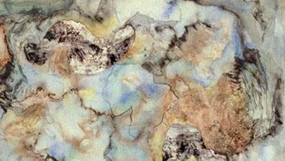 Wild Blue Yonder (detail) by  Arlene Nesbitt