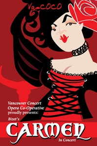"""Riveting, passionate, poignant and totally satisfying"" (Opera Canada Review): Bizet's Carmen  - ENCORE PERFORMANCE @ Canadian Memorial United Church May 14 2011 - Oct 29th @ Canadian Memorial United Church"