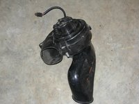 Porsche 993 Heater Motor/Discharge Duct