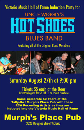 Uncle Wigglys Hot Shoes Blues Band @ Tally Ho Sports Bar and Grill Aug 27 2011 - Oct 21st @ Tally Ho Sports Bar and Grill