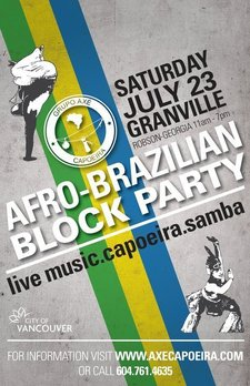 Afro-Brazilian Block Party