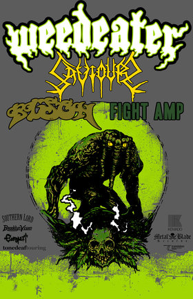 Weedeater, Saviours, Bison, Fight Amp @ Rickshaw Theatre Sep 27 2011 - Jun 1st @ Rickshaw Theatre